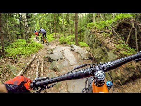 This trip keeps getting BETTER! | Mountain Biking Trutnov Trails in Czech Republic