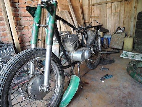 перебирать Мотоцикл Минск #3
