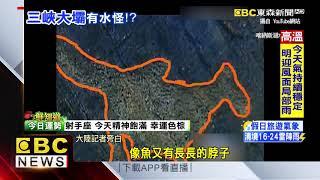 大陸版尼斯湖水怪? 三峽大壩驚見神祕生物戲水
