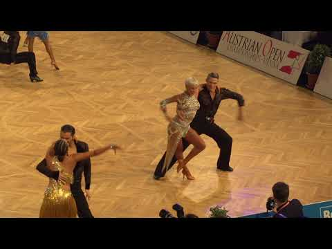 Marius Andei Balan   Khrystyna Moshenska Cha-Cha  WDSF World Championship