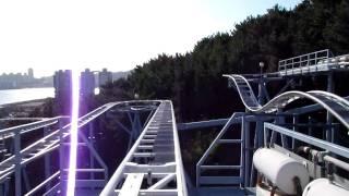"Busan-MEWORLD ""DIVING COASTER"" ON-RIDE VIDEO thumbnail"