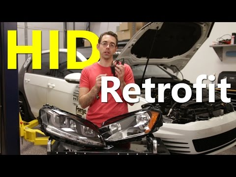 Understanding Halogen to Xenon (HID) Retrofits