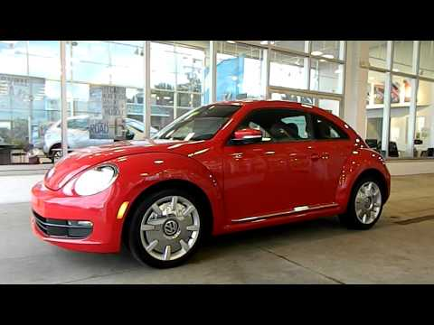 Tornado Red 2012 VW Beetle 2.5 @ Eastside Volkswagen in Cleveland, Ohio