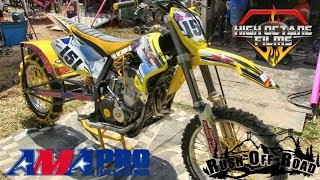 BADDEST DIRT BIKES ON THE PLANET!! NITRO BURNING AND CHAINED TIRES!