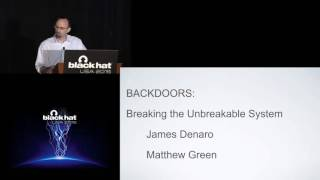 Back Doors And Front Doors Breaking The Unbreakable System