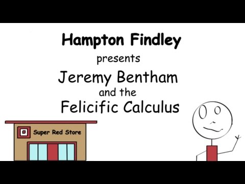 Jeremy Bentham and the Felicific Calculus