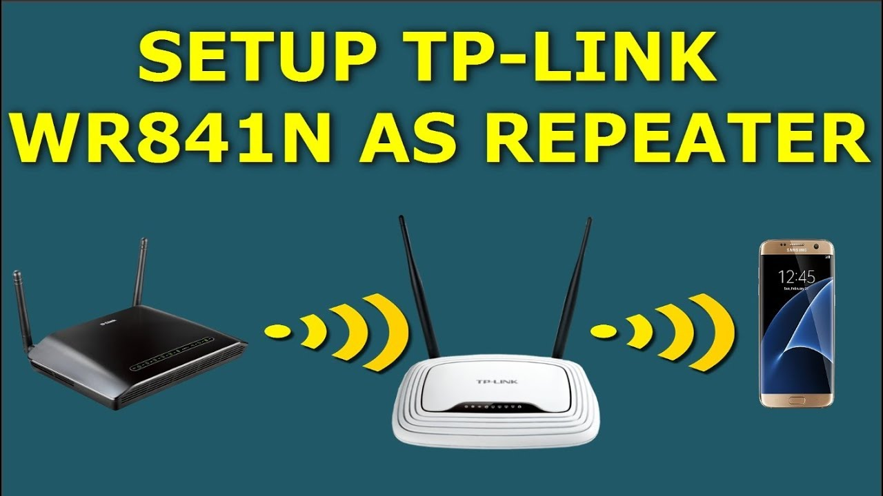 Setup Router Tp-link TL-WR841N as Repeater | كـ ربيتر