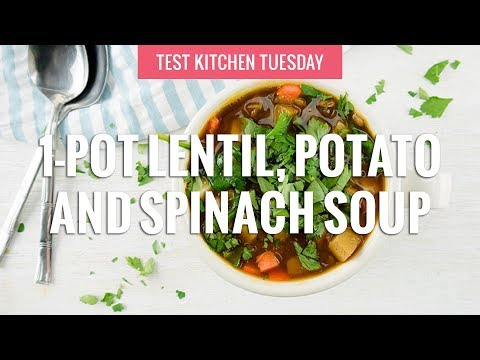 French Lentil With Potato Soup
