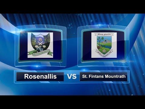 Laois SHC A QF 2017: Rosenallis v St  Fintans Mountrath