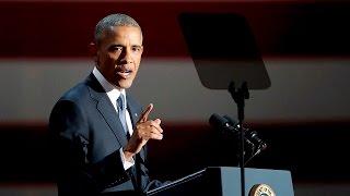 FULL SPEECH: US President Barack Obama farewell address