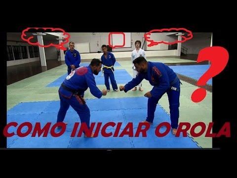 Como Lutar Jiu jitsu - Aula Prática  - Feu Bjj