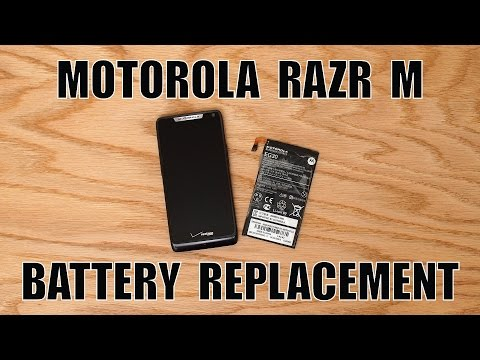 Motorola Razr M XT907 Battery Replacement