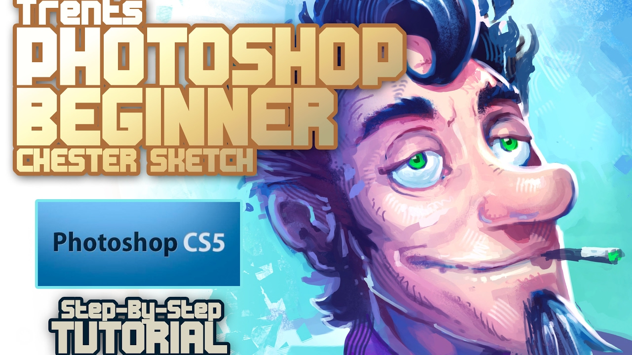 Photoshop for Absolute Beginners - Drawing Tools Tutorial