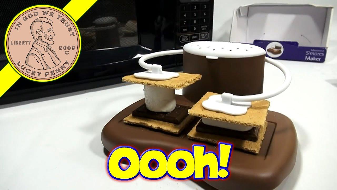 progressive microwave s mores maker graham crackers marshmallows chocolate