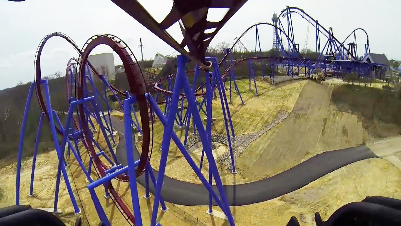 Banshee roller coaster real pov kings island ohio 2014 awesome youtube