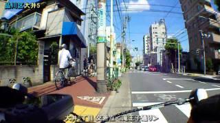 池上通り(大田区千鳥→東品川)×2.4倍速