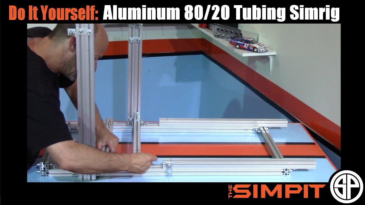 Diy Aluminum 80 20 Tubing Simrig By The Simpit