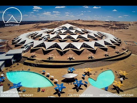 Desert Tented Resort - Glamping Tent For Retreat - Luxury Campsite Construction