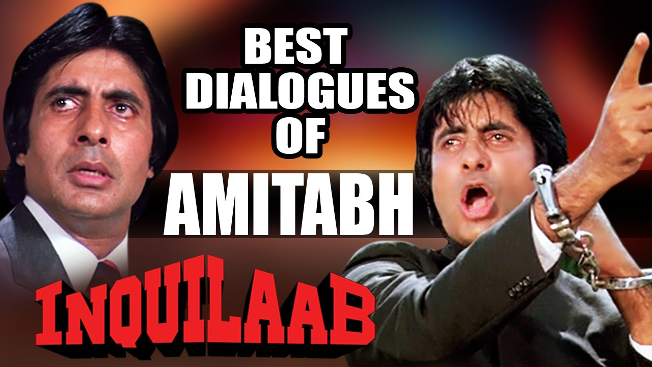 Best Dialogues Of Amitabh Bachchan Superhit Bollywood Hindi Movie