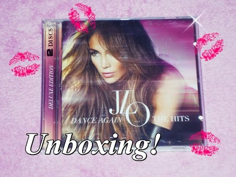 Unboxing! - Jennifer Lopez - Dance Again ... The Hits (Deluxe)