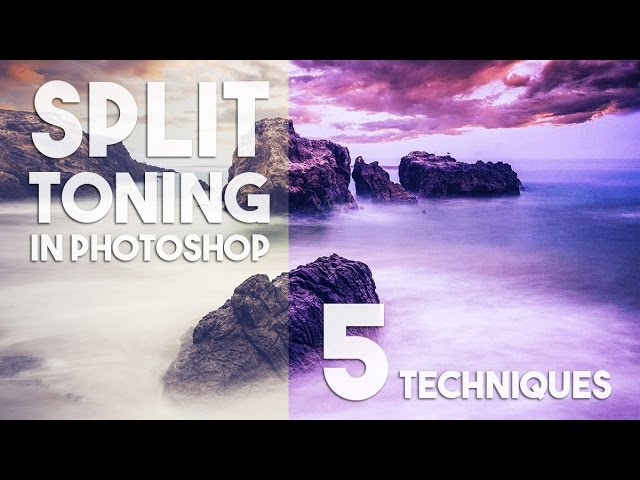 5 Split toning techniques in Photoshop