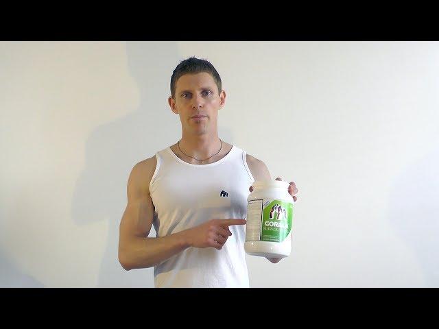GORILLA Burnout Fuel - zdravá rychlá svačinka