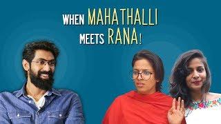 Mahathalli supports Domex and Rana || Mahathalli