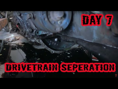 Engine/Transmission Seperation Big Block FE - (1973 Ford F100 Rebuild = Day 7)