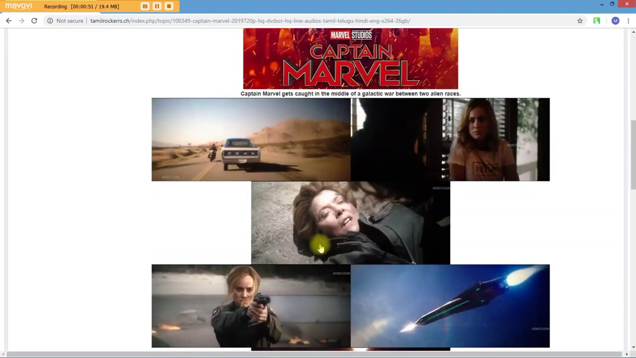 How to download captain marvel movie in hd(1080p)(all languages