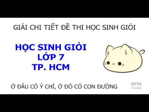 Đề Thi Học Sinh Giỏi Môn Tiếng Anh Lớp 7 - Video 11/15