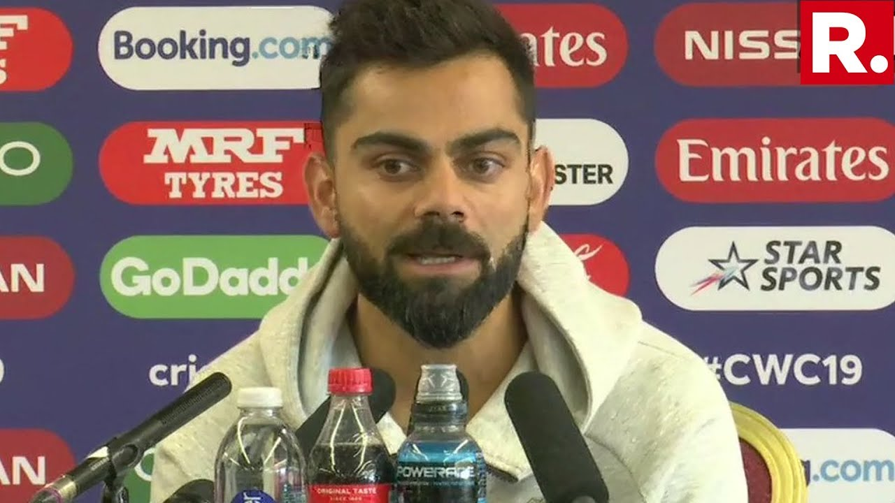 Download Virat Kohli Addresses A News Briefing Ahead Of The Indo-Pak Clash At The World Cup 2019