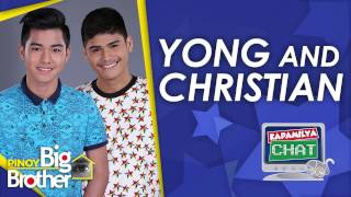 Repeat youtube video Kapamilya Chat with Yong Muhajil and Christian Morones for PBB