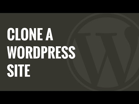 How to Clone a WordPress Site in 7 Easy Steps - 동영상