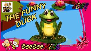 Funny Duck Nursery Rhyme Duck song nursery rhymes for kids   BeeBeeKids