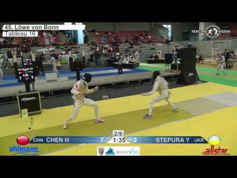 FE M F Team Bonn GER World Cup 2017 T16 07 yellow CHINA CHN vs UKRAINE UKR