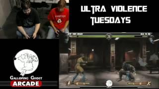 MK9: EMP Tom Brady (Sub Zero) vs GGA 16 Bit (Kitana) GGA Ultra Violence Tuesdays (15.Aug.2012)