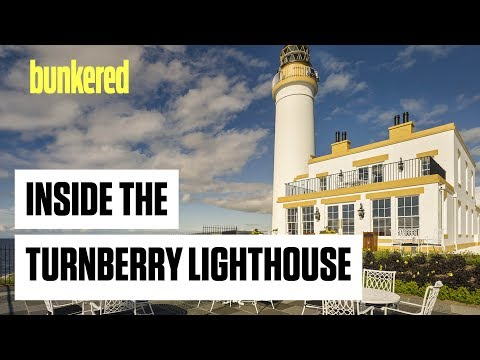 Inside the Turnberry Lighthouse
