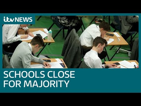 Coronavirus: UK Schools Close To All But Children Of Key Workers   ITV News