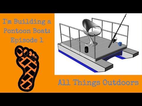 I'm Building a Mini Pontoon Boat: Episode 1 - YouTube