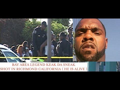 Rapper Keak Da Sneak Attacked in Richmond California Gas Station. HE IS  RECOVERING!