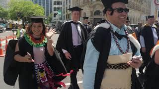 Victoria University of Wellington's 2017 graduation parade