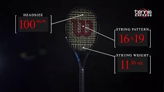 Wilson Ultra 100 CV Black Tennis Racquet Review | Tennis Express