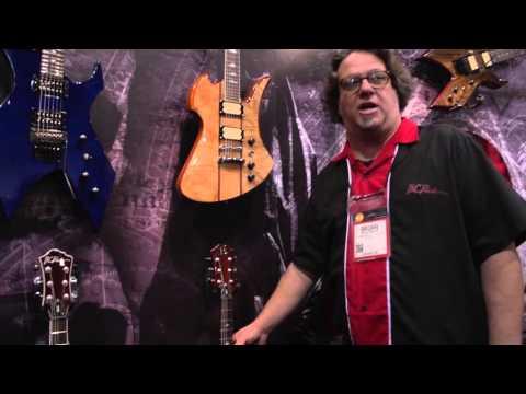 NAMM 2016 - BC Rich MK Series & US Custom Shop Guitars