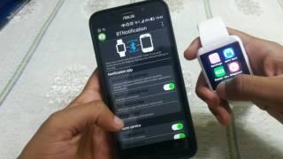 Configure U8 Smartwatch / Bt Notice