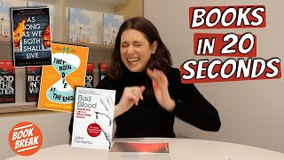 Bad Blood In 20 Seconds | #bookbreak