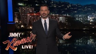 Jimmy Kimmel's Sad Story About the Helmet Full of Nachos