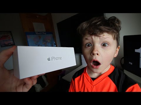 Surprising My Little Brother with a *NEW* iPhone!! (emotional)