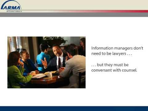 ESI Challenges in Litigation - Course Information