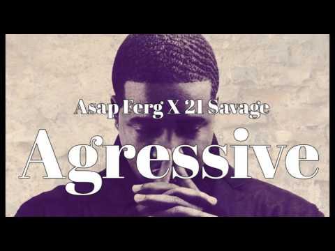 "FREE BEAT "" AGRESSIVE "" Asap Ferg X 21 Savage Type Beat 2017"