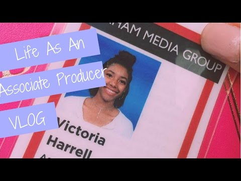 Follow Me Around | VLOG | Life As An Associate Producer